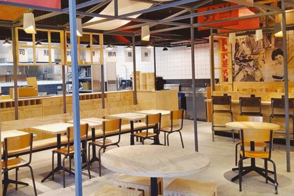 Vue intérieure du restaurant Yatay Asian Bistrot